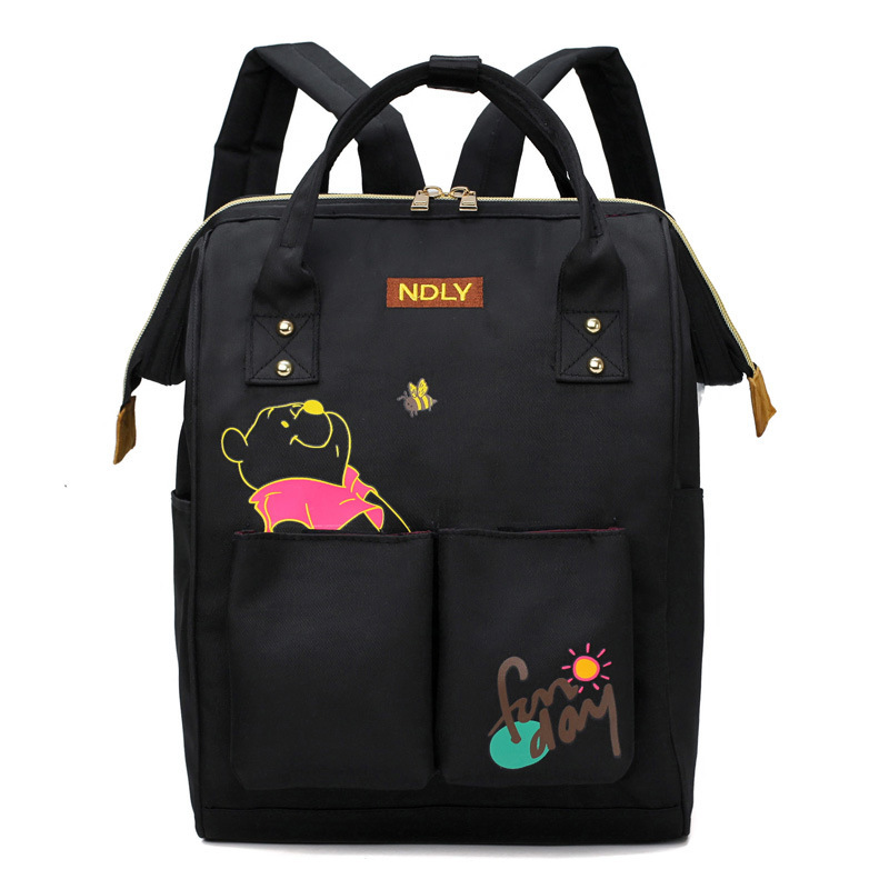 New Fashion Style Mother Bag New Large-capacity Simple Mother Working Backpack For Women Multi-functional Waterproof Bags