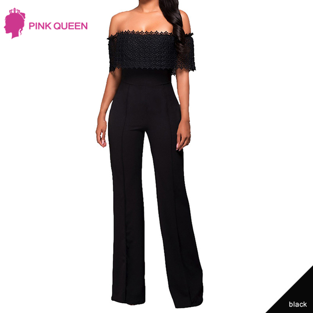 bede8a0a8ad7 Pink Queen Hot Selling Sexy Women Overalls for Women Elegant Jumpsuits for  Women 2018 Fashion Rompers Womens Jumpsuit Mono Mujer
