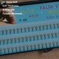 Encanto 4 raíces eyelashe pestañas de visón faux de seda extensiones de pestañas pestañas falsas extensiones de pestañas 3d rizar las pestañas de 10 cajas