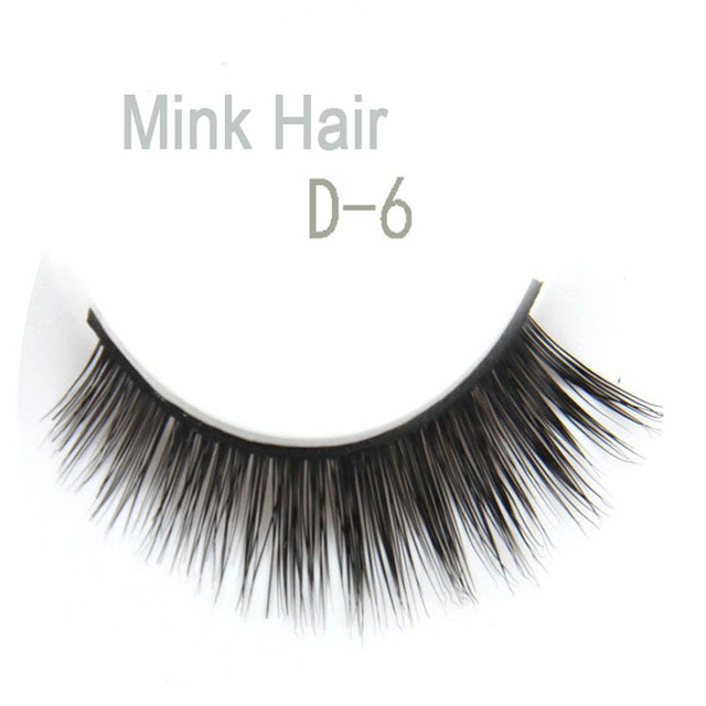 Aliexpress Buy Mink Lashes Natural 3d 100 Thick Real Mink