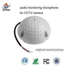 все цены на Hight Quality Security Adjustable Sensitivity CCTV Mic Microphone Sound Pick-Up Monitor Audio  онлайн