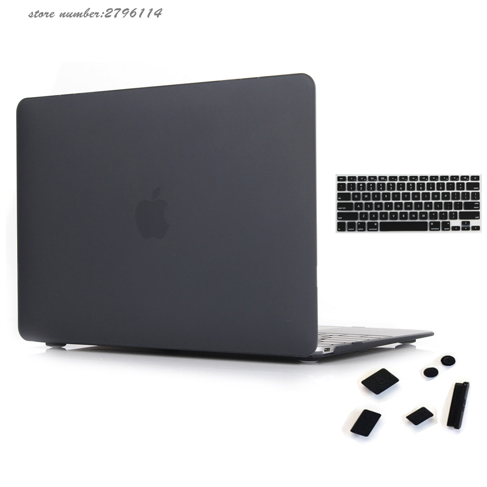 Fashion Matte Protective Sleeve Hard Cover Case For Apple MacBook Pro 13 15 With Retina Air
