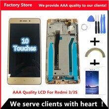 5,0 дюймов AAA качественный ЖК-дисплей для Xiaomi Redmi 3 ЖК-экран Замена для Redmi 3 3S ЖК-дигитайзер Aseembly