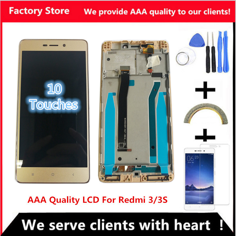5 0 Inch AAA Quality LCD For Xiaomi Redmi 3 Lcd Display Screen Replacement For Redmi 5.0 Inch AAA Quality LCD For Xiaomi Redmi 3 Lcd Display Screen Replacement For Redmi 3 3S LCD Digiziter Aseembly