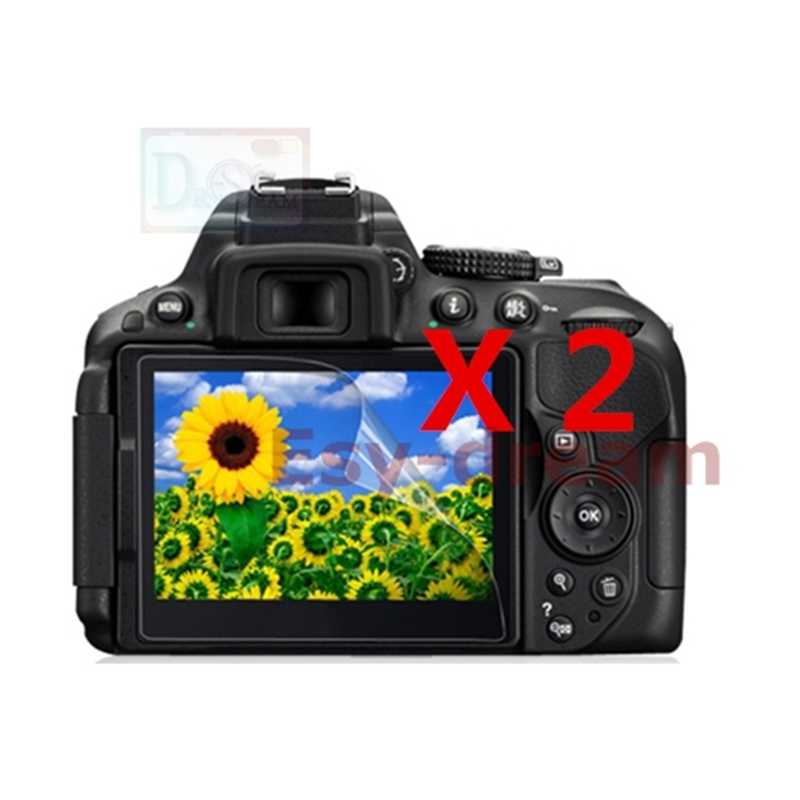 Double Tape Adhesive NEW Nikon D5100 Outer LCD Screen Display Window Glass