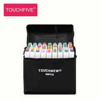 TouchFIVE30/40/60/80/168 Color Art Markers Set Dual Headed Artist Sketch Oily brush for Draw Manga Animation Design Art Supplies