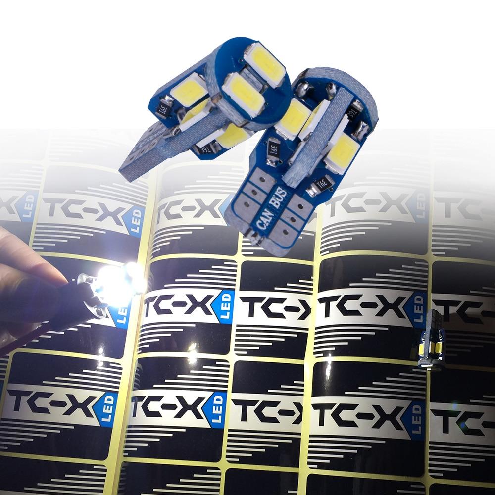 TC-X Canbus W5W T10 Señal LED Luces traseras de la lámpara para - Luces del coche - foto 3