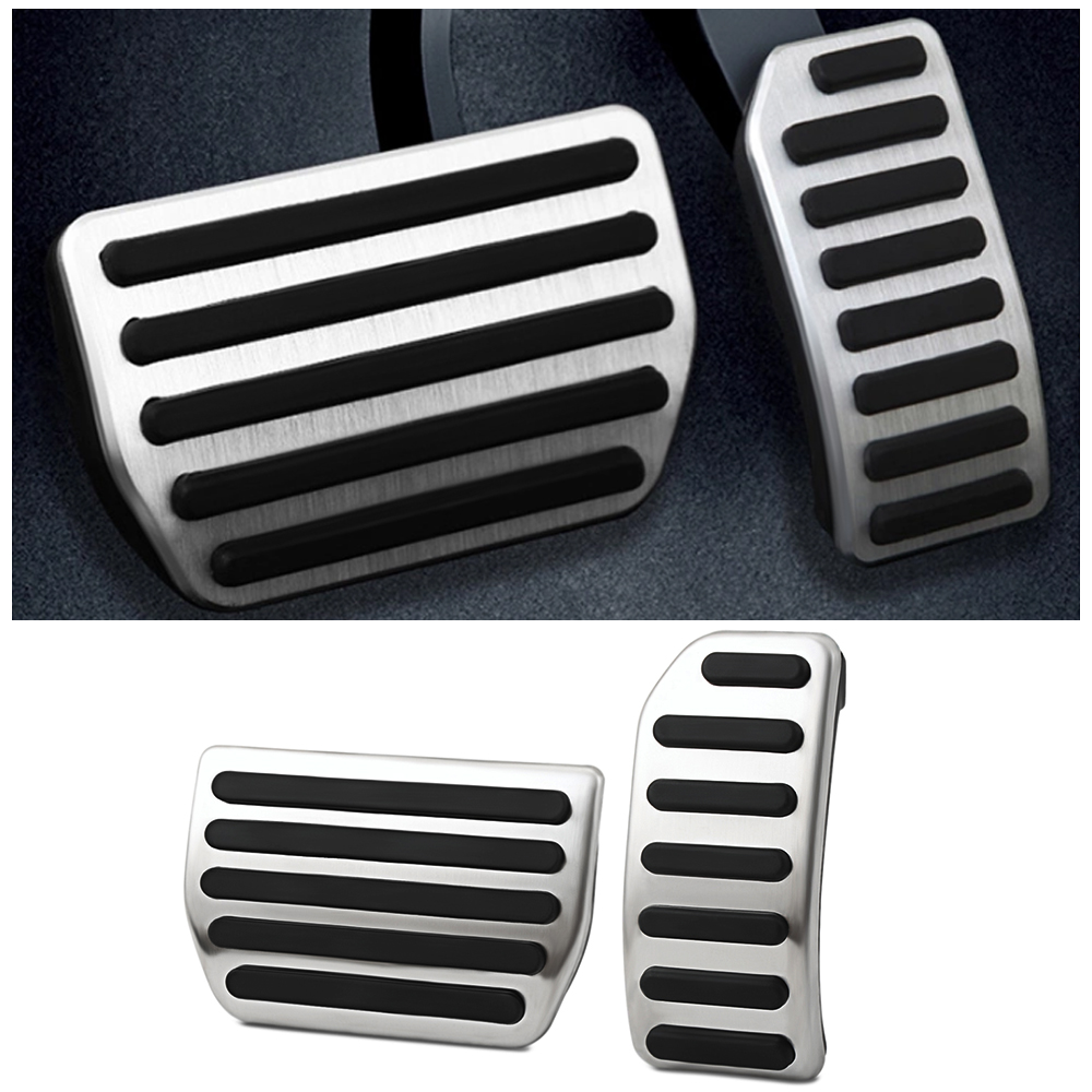 Volvo S60 Brake Pads: Stainless Steel Gas Fuel Brake Pedal Pads Cover For Volvo