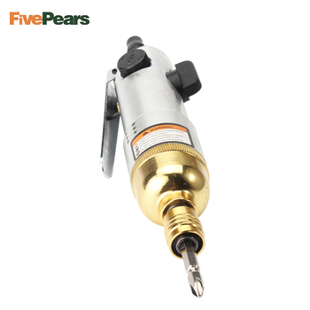 Pneumatic Air Screwdriver air tools Gold plating industrial air screw driver economic type free shipping FIvePears free shipping 8l 9000rpm air powered screwdriver industrial air impact screwdriver high torque pneumatic screwdriver tool