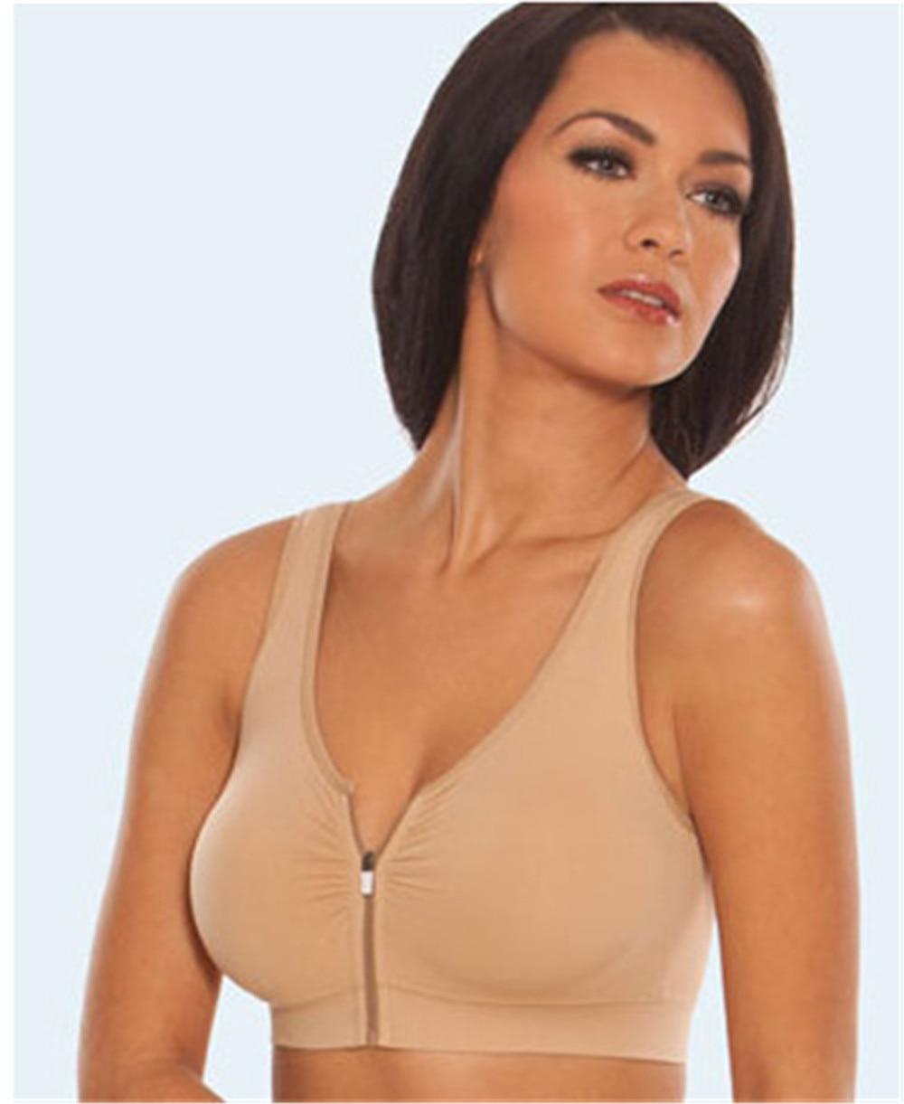 906c7680a5ef2 As Seen On TV Seamless Genie zip Bra women push up bra Relax sleeping bra  students daily underwear NRWX008-in Bras from Underwear   Sleepwears on ...