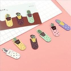 3 teile/los, Kaktus Magnetische Lesezeichen Nette Pflanzen Magnetische Lesezeichen Kinder Studenten Büro Schreibwaren Geschenke
