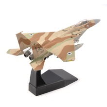 kids toys 1/100 Israel Airforce US F-15 Eagle Fighter Camo Air Force Diecast Aircraft Plane Model Alloy AirlineToy стоимость