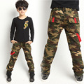 New Arrival Camouflage Pants Children Outdoor Military Style Trousers Kids Sporting Comfort Denim Trousers Wear Resistant