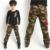 Nova Chegada Crianças Calças de Camuflagem Estilo Militar Ao Ar Livre Calças Crianças Sporting Conforto Denim Calças Resistentes Ao Desgaste