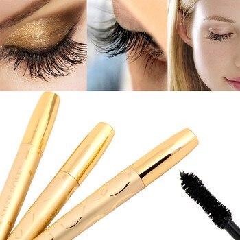 NEW Fashion Charming Black Eyelashes Mascara Gold High Quality Makeup Golden Eyelash Extension Curling Eye Lashes Drop Shipping Beauty Essentials