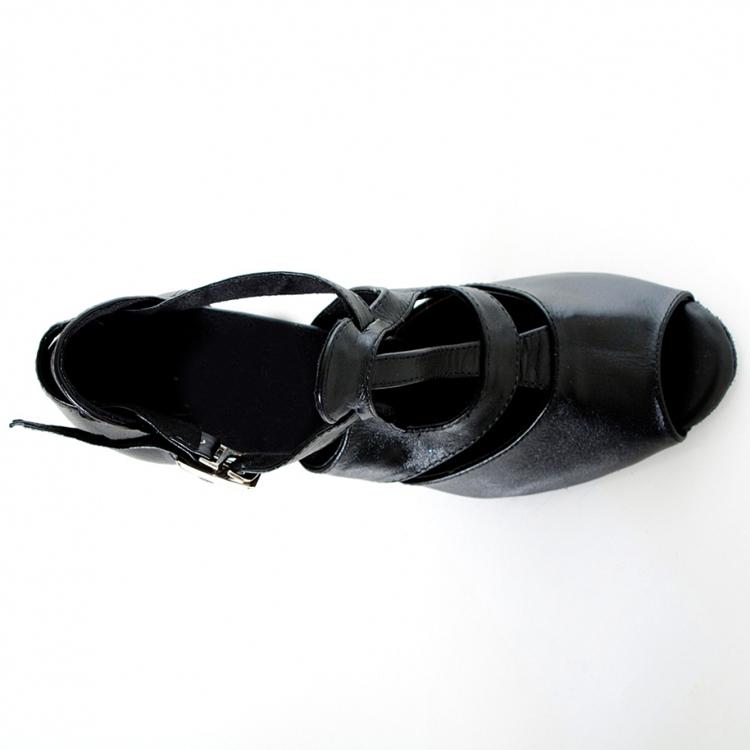 LUICCI-nuovo-Nero-Del-cuoio-Genuino-scarpe-da-ballo-Latino-delle-donne-adulte-Sala-Da-Ballo (5)