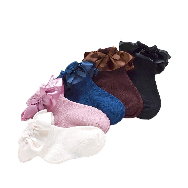 2017 Lace Socks Girls Cozy Vintage Lace Ruffle Frilly Ankle Socks Baby Girls Princess Socks Floral Kids meias School Pink Sweet