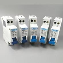 TPN 1P+ N Мини автоматический выключатель MCB 10A, 16A, 20A, 25A, 32A