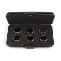 6 In 1 Filter Accessories UV Circular Polarizer Neutral Density Filters MCUV CPL ND4 ND8 ND16