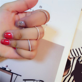 Simple Classic stamp exquisite fashion rings 2