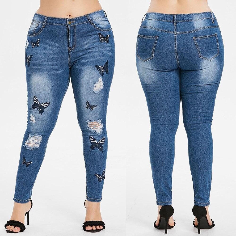 Hot!!! 2019 New Ladies jeans Fashion Wom