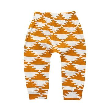 Unisex Geometric Fruits Animals Pattern Baby Pants 2