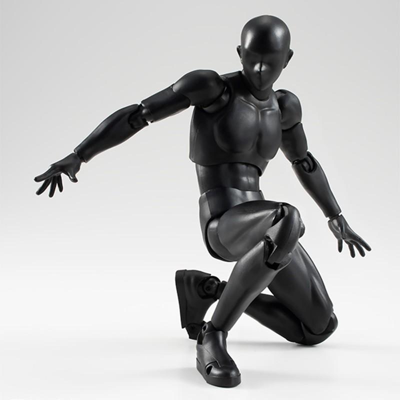 6 Types 2 Colors SHFiguarts Body Chan Body Kun Black Skin Color Ver PVC Action Figure Collectible Model Toy (11)