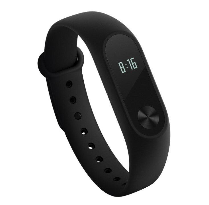 Original Xiaomi Mi Band 2 Smart Bracelet Fitness Tracker OLED Screen Heart Rate Monitor Mi Band 2 Clock Smart Wristband