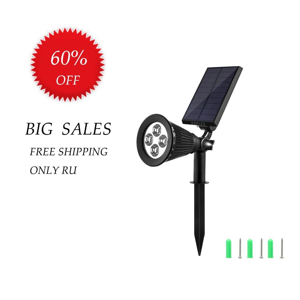 BRILEX LED Lamp Black IP65 ABS 5V Garden Outdoor Solar Light Garden Solar Light Outdoors Solar Lights For Garden Decoration
