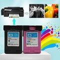 2 Шт. 901 Для HP901 XL HP901 Color/Картриджей с Черными Чернилами Для HP OfficeJet 4500 J4540 J4580 J4550 J4680 J4535 Принтера