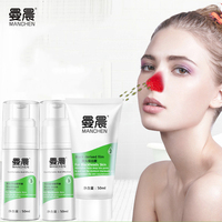 MANCHEN Black Mask Tearing Style Deep Cleansing Purifying Peel Off Black Head Close Pore Face Mask