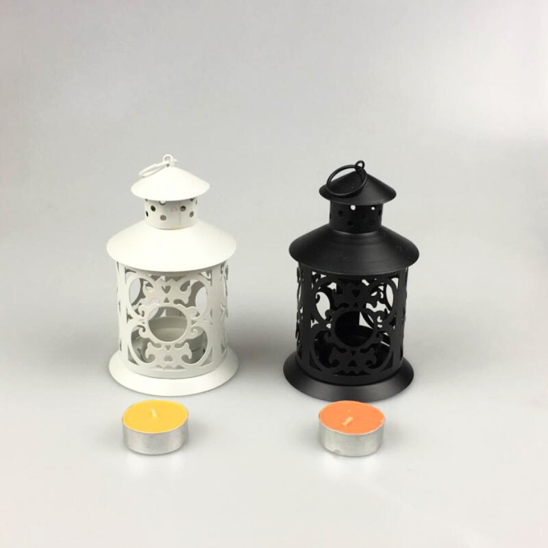 Hanging Candle Lanterns For Weddings Iron Bird Cage Holders European Morocco Hollow Candlestick Home Decoration