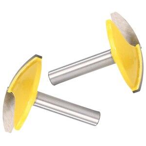 Image 5 - Fresa de vástago de 8mm, fresa de borde recto, cortador de cuchillo de ranurado, brocas planas finas, mango de corte para fresadora de madera y carpintería
