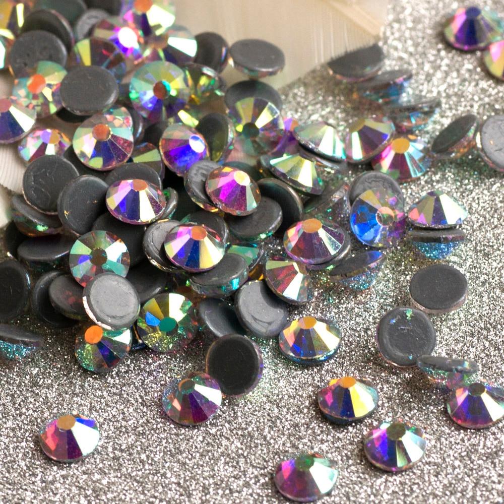 1440pcs SS20 Crystal AB Hotfix Rhinestones For Clothes 5A Best Shiny Hot  Fix Strass Hotfix Stones And Crystals Rhinestone DIY 8b5b9f197dd5