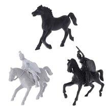 1 шт. моделирование лошади модели образовательных игрушек коллекция подарок для мальчиков Дети 3 вида стилей для ребенка