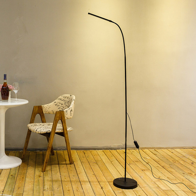 Modern Eye Protection LED Floor Lamp Dimmable Stand Lights Living ...