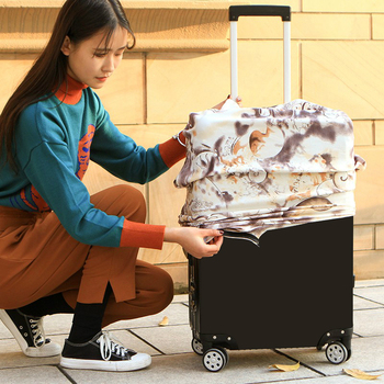 JULY'S SONG Women's Men's Travel Luggage Cover Fashion Trolley Suitcase Protect Dust Bag Case Travel Accessories Supplies 2