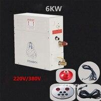 ST 60 В 6KW 380 В в/генератор паровой бани в парогенератор Высокое качество 220 дома душевая Бытовая Сауна паровой генератор Лидер продаж