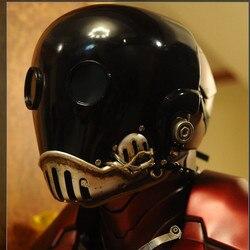 OGRM Feine Harz Replik 1:1 Hellboy Kroenen Mask Prop Cosplay Dekoration Halloween Maske Schnelle Versand