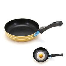 Мини-Сковорода из алюминиевого сплава с антипригарным покрытием, сковорода для яиц, блинница, инструмент для приготовления пищи, кухонные аксессуары