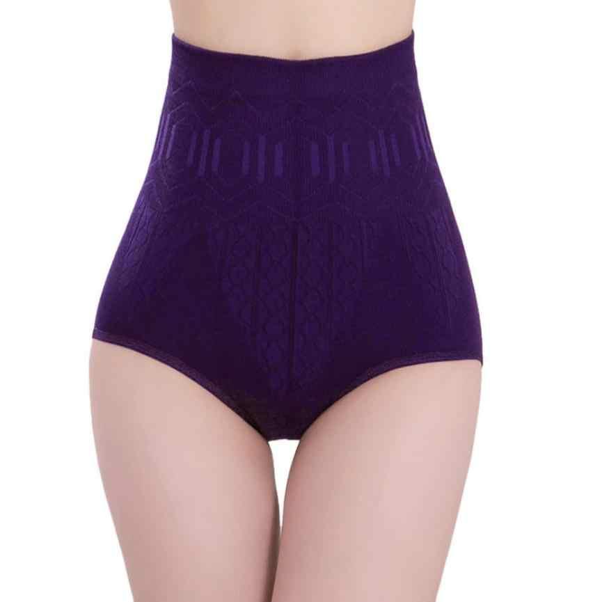 セクシーなレディースハイウエストpantalonesおなかコントロールボディシェイパーブリーフスリミングパンツショーツ2018夏ショートfeminino固体# w