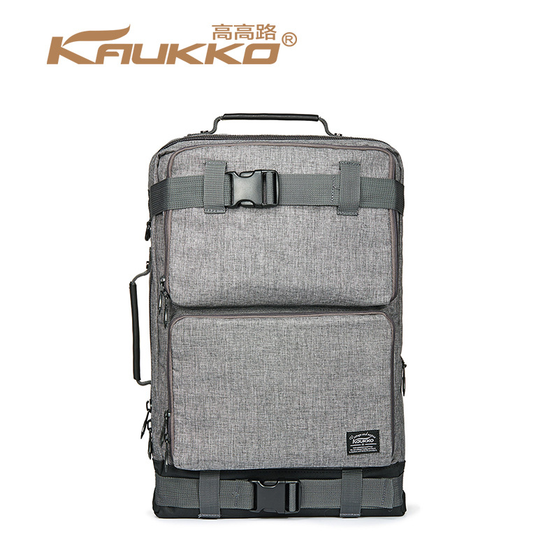 Men knapsack travel Bag Mens Vintage Canvas Duffel Convertible Bag 3 in 1 Shoulder Back Pack for backpack Large space laptop