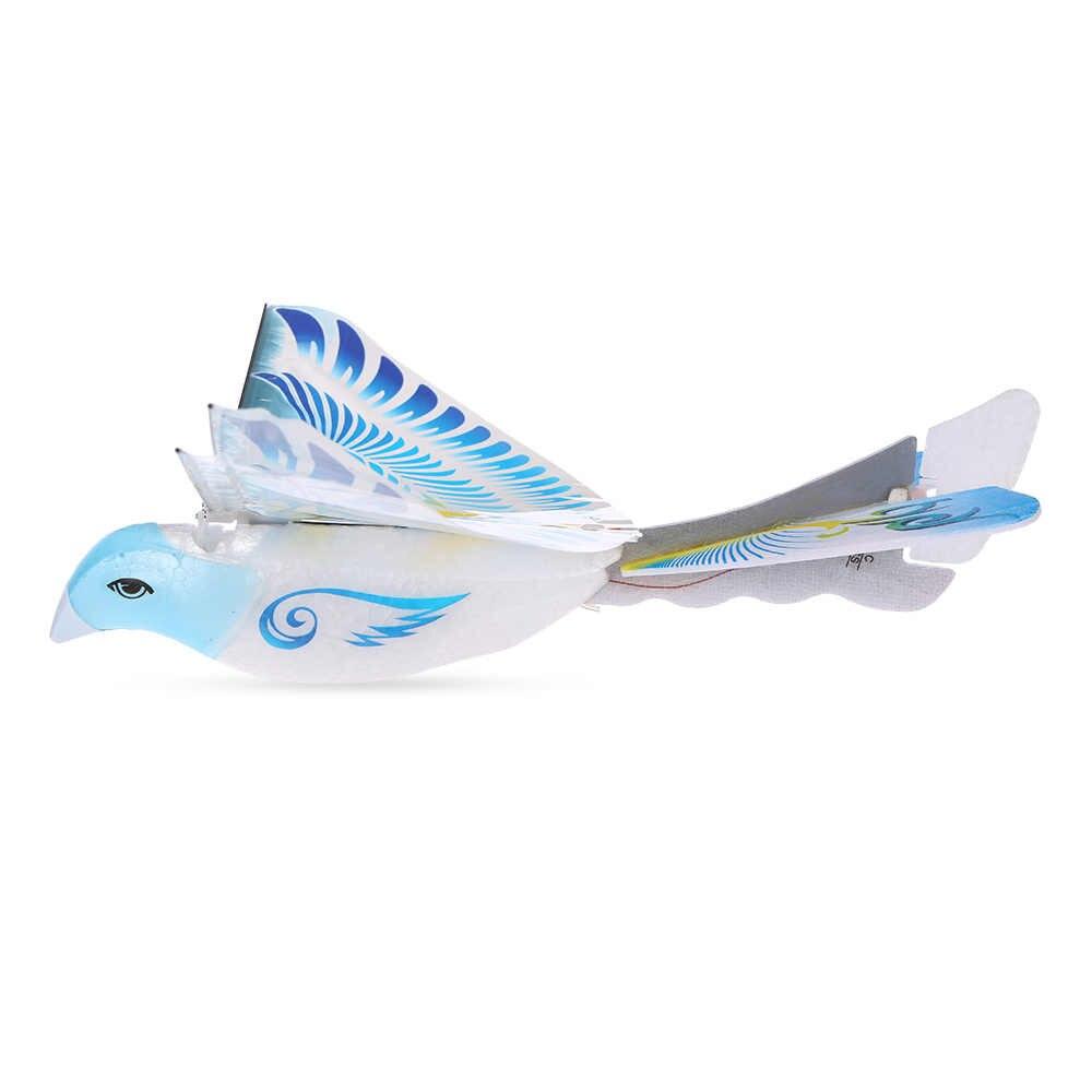Мини-пенный беспилотный Радиоуправляемый Дрон 98007 + 2,4 ГГц радиоуправляемая птица пульт дистанционного управления Аутентичные Летающие птицы летающие самолеты RC игрушки