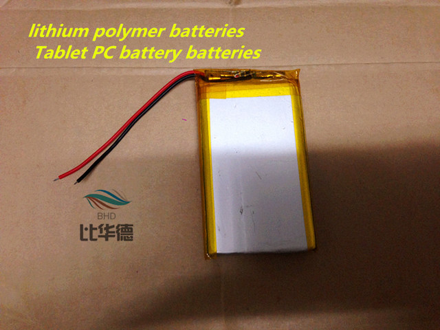 3.7V 605080 lithium polymer batteries 3000MAH 7 inch Tablet PC battery batteries product spot