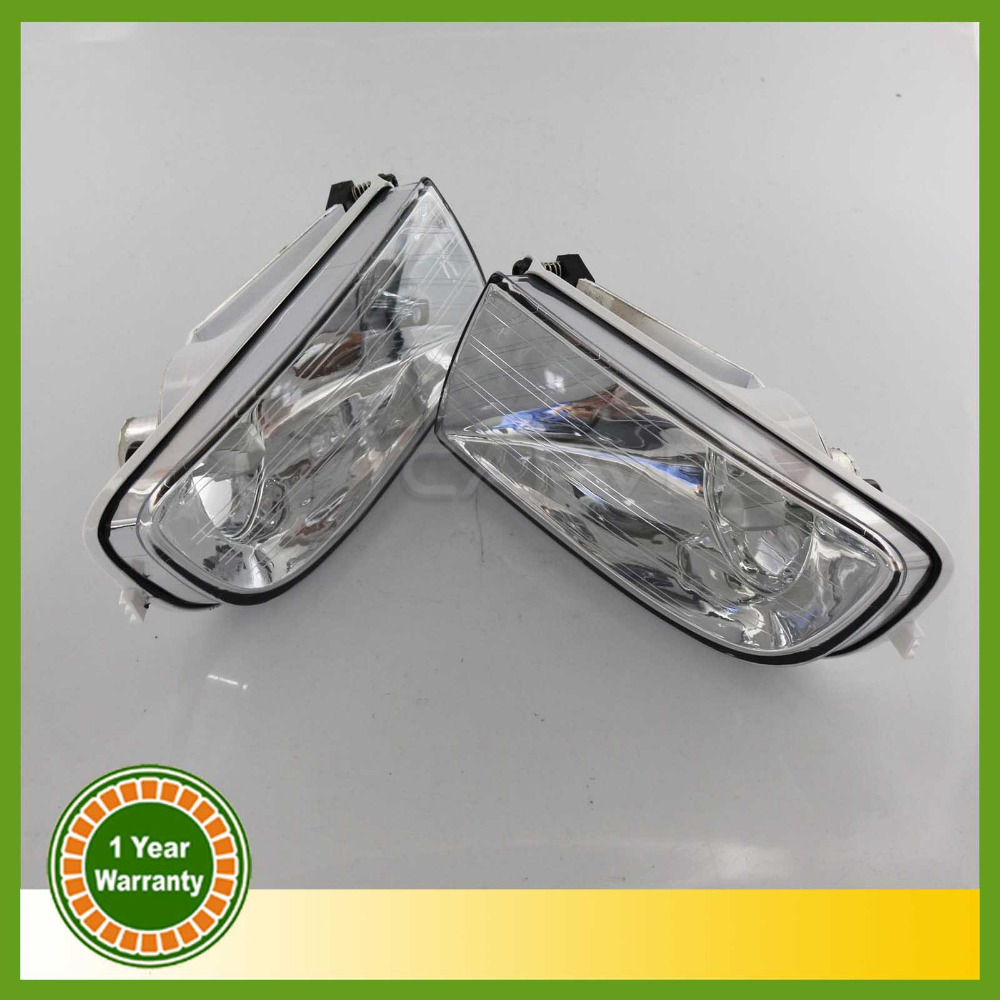For Skoda Octavia 2 A5 MK2 2004 2005 2006 2007 2008 Pair Of Front Halogen Fog Lamp Fog Light free shipping for skoda octavia sedan a5 2005 2006 2007 2008 left side rear lamp tail light