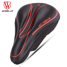 WHEEL UP Bicycle Silicone Front Saddle Cover Soft Comfortable GEL Pads Cushion  MTB Mountain Road Bike