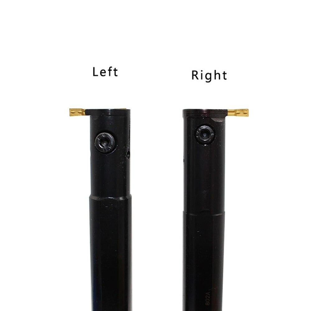 Купить с кэшбэком MGIVR2016 MGIVR2520-3 Internal Grooving Tool Holder with 10pcs Carbide Insert CNC Lathe Boring Bar Turning Tool Set