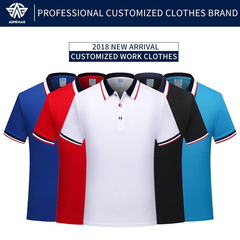 Adhemar Breathable Polo Shirt For Work Modern High Garments With Collar For Enterprise And Sports activities