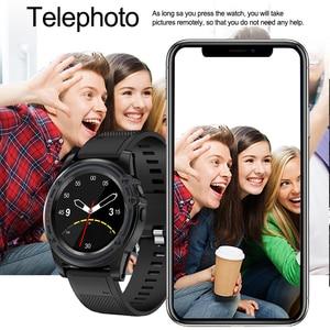 Image 5 - 칙칙한 스마트 시계 전화 sw18 시계 sim 푸시 메시지 응답 전화 안드로이드 전화 pk q18 스마트 시계에 대한 블루투스 계산
