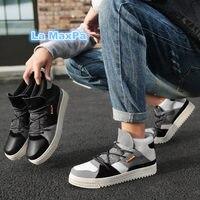 parallel sneakers men black White sport shoes men Brand running shoes men Genuine Leather designer shoes modis zapatos de hombre